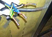 Один из способов соединения проводов