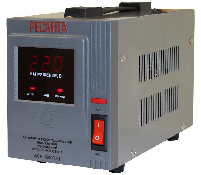 Стабилизатор напряжения электронного типа