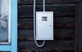 Уличный ящик для электросчетчика
