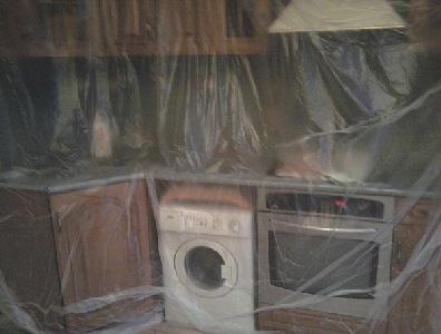 Защита мебели пленкой