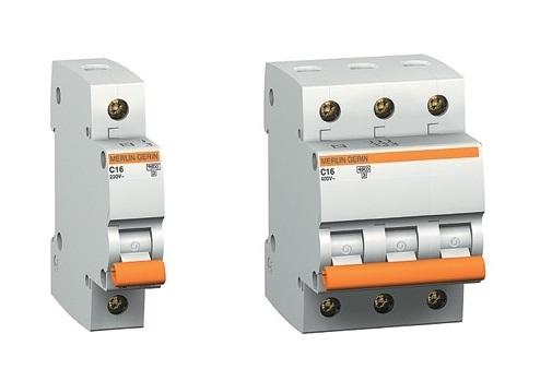 Однополюсный и трехполюсный автоматы