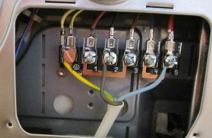 Клеммник электроплиты