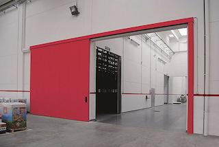 Огнестойкие ворота как элемент пожарной безопасности